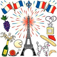 Paris, France Clip Art Party Stock Vector - Illustration of perfume, eiffel: 9394799 Daisy Girl Scouts, Girl Scout Troop, Tour Eiffel, French Celebrations, Eiffel Tower Photography, French Days, French Style, France National, Carnival Of The Animals