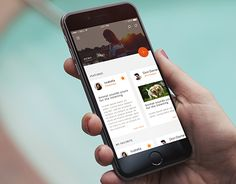 """Check out new work on my @Behance portfolio: """"Likeable Hub App""""…"""