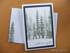 Maureen Rootes - mo@crafty-rootes.co.uk - Stampin Up Wonderland stamp set and Sleigh Ride edgelits