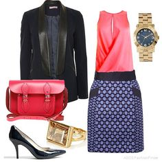 Pop of Pink | Women's Outfit | ASOS Fashion Finder