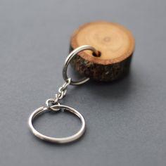 Linden Holz Schlüsselbund  rustikale Holz Linden von WoodsOfNarnia