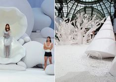 Chanel Runway for Spring Summer 2012 by Zaha Hadid. | yellowtrace blog »