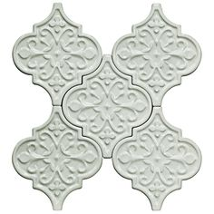 Byzantine Florid Arabesque Alice Ceramic Tile - Complete Collection