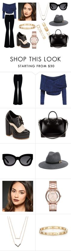 """""""Sin título #759"""" by pinkybunny on Polyvore featuring moda, STELLA McCARTNEY, Jeffrey Campbell, Givenchy, Karen Walker, Bebe, Urban Decay, Marc by Marc Jacobs, Michael Kors y Tiffany & Co."""