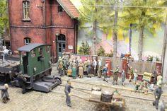 Dioramen Hartmut Stöver - Eisenbahn und Industrie | Modellbahn