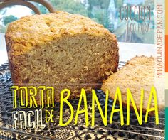 Torta de Banana Fácil en Panificadora Sin Gluten, Gluten Free, Bread Machine Recipes, Lidl, Cooking Time, Banana Bread, Food And Drink, Favorite Recipes, Sweets