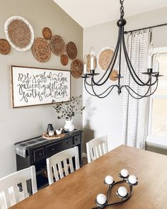 Things to Think About When Making a Basket Wall Dining Room Wall Decor, Farmhouse Wall Decor, Bedroom Decor, Rental Decorating, Baskets On Wall, Pipe Furniture, Industrial Furniture, Vintage Industrial, Furniture Design