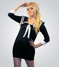 Sweet-Hearted Sailor Dress PREORDER NOW: Ships 10/10  $88   lame girly halloween costume?