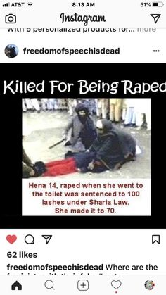 This is what the a-holes Muslims would have you believe is ok. Let's do this to the men and see how long THEY keep shit-sharia law. Islam, Sharia Law, Atheism, Religion, Knowledge, Wake Up, America, Shit Happens, Thoughts