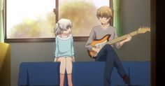 Kazuki tomori y su hermana (Nao)