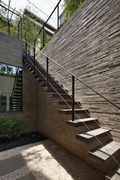 25 Best Outdoor Stairs Design Ideas Of 2020 - Modern Stairs - The Architecture Designs Stairs Architecture, Architecture Details, External Staircase, Metal Stairs, Floating Staircase, Design Exterior, Exterior Stairs, Outdoor Stairs, Staircase Design