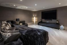 7 bedroom detached house for sale in Macclesfield Road, Prestbury - Rightmove. Home Cinema Room, Snug Room, House Extension Design, Living Room Decor Cozy, Living Rooms, Home Cinemas, Detached House, Ideal Home, Black House