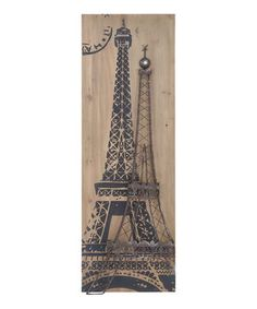 """This iconic Eiffel Tower décor accent will put a perfectly Parisian touch in décor that will have friends and family saying """"oh la la!"""""""