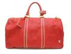 Louis Vuitton Tobago Keepall 50 Mens Runway Travel Bag (Limited Edition 2006 Runway Bag)