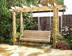 Pergola For Sale Cheap Pergola Carport, Small Pergola, Outdoor Pergola, Backyard Pergola, Pergola Plans, Backyard Landscaping, Outdoor Decor, Pergola Kits, Pergola Ideas