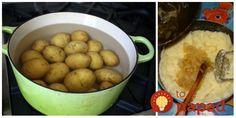 """Výborný šalátik, ktorý ma naučila moja mama a máme ho veľmi radi. Bez majonézy a taký jednoduchý, že to ľahšie už nejde!  Potrebujeme:  1,5 kg uvarených zemiakov, ošúpaných, pretlačených    Soľ    2 veľké cibuľe nakrájané androbno    2 lyžice horúceho """"nedeľného vývaru""""    2 Food And Drink, Potatoes, Vegetables, Potato, Vegetable Recipes, Veggies"""