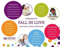 5 Reasons to fall in LOVE with Usborne Books & More