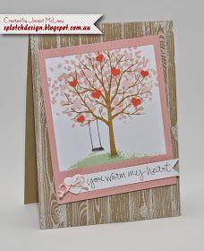 Splotch Design - Jacquii McLeay Independent Stampin' Up! Demonstrator: Sheltering Tree Cards