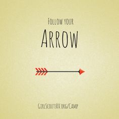 Where does your arrow point you? Registration is still open for camps this summer: www.girlscoutsrv.org/camp
