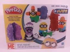 Play Doh Makin Mayhem Despicable Me Minions Set Disguise Lab Featuring Hasbro  #Hasbro
