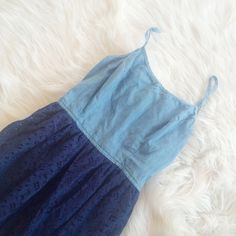 BLUE LACE DRESS Worn once **remember to bundle and save 10%** no holds/no trades/no modeling/no asking for lowest Mossimo Supply Co Dresses