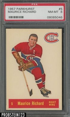 Search for Parkhurst. Search for Parkhurst - [Base]. Montreal Canadiens, Hockey Cards, Baseball Cards, Maurice Richard, Nhl, Collections, Motivation, Sports, Pictures
