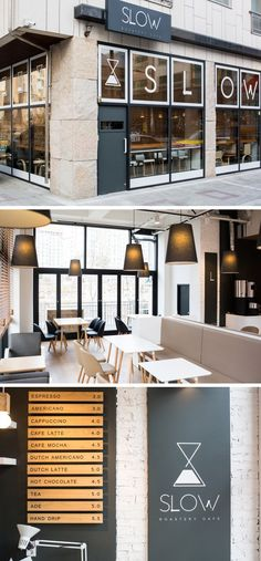 29 Ideas for vintage cafe interior modern Bakery Interior, Restaurant Interior Design, Shop Interior Design, Cafe Shop Design, Coffee Store, Cafe Bistro, Vintage Cafe, Cafetiere, Interior Exterior