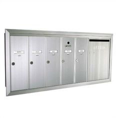 1260 Series Vertical Mailbox Unit With Outgoing Mail Slot Color: Black Powder Coat, Number of Compartments & Doors: 2 Double Wide Doors & 3 Compartments by Florence Mailboxes. $317.09. 1260-23A-Black Color: Black Powder Coat, Number of Compartments & Doors: 2 Double Wide Doors & 3 Compartments Features: -''US Mail'' engraving is not included.-Anodized Aluminum and Gold Anodized are paint rated for indoor use only.-Secure and tamper resistant.-USPS approved.-Fully recessed.-Outgoi...
