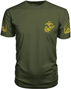 0a0e74df4 Armed Forces Apparel US Marine Corps Sergeant PT T-Shirt (Small