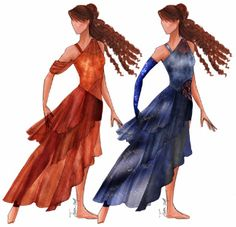 These could work for dance costumes, a fantasy medieval story. The possibilities are endless! Color Guard Costumes, Creative Costuming Designs, Colour Guard, Color Guard Uniforms, Circus Costume, Dance Outfits, Pretty Outfits, Pretty Clothes, Costumes For Women