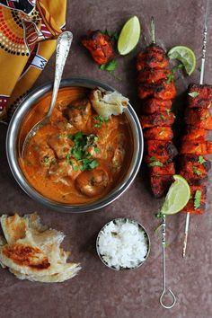 Tandoori Tofu Tikka Masala Vegan K O Rasoi Vegan Curry, Vegan Vegetarian, Vegetarian Recipes, Paleo, Cooking Recipes, Healthy Recipes, Vegan Tikka Masala, Tandoori Masala, Masala Curry