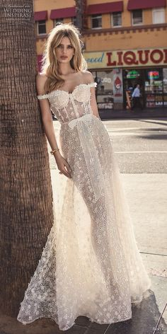 berta 2019 muse bridal off the shoulder sweetheart neckline full embellishment bustier romantic sexy soft a line wedding dress sweep train (2) lv -- Muse by Berta 2019 Wedding Dresses | Wedding Inspirasi #wedding #weddings #bridal #weddingdress #bride ~