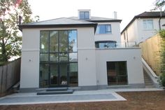 double storey extension back elevation - Google Search