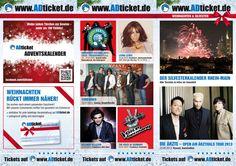 Weihnachts-/Silvesterflyer 2012 Rhein-Main