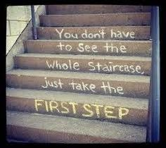"""""""Sometimes the smallest step in the right direction ends up being the biggest step of your life. Tiptoe if you must, but take a step."""" — Naeem Callaway"""