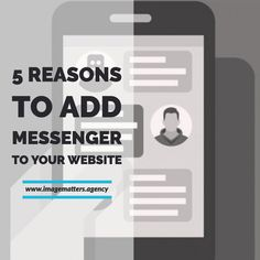 5 Reasons to Add Messenger to Your Website Website Images, Your Website, Digital Review, Want Quotes, Digital Footprint, Facebook Users, Relationship Building, Digital Marketing Strategy, Talking To You
