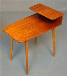 Kurt Østervig; Teak SideTable for Jason Danish Applied Art, 1950s.