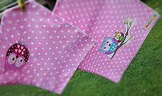 Hračky - Obliečky na perinky do kočíka sovička - 8402438_