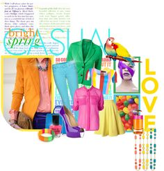 """""""Bright Spring Casual"""" by spicemarket on Polyvore"""