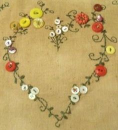 button heart by nicole