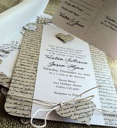 convite de casamento diy