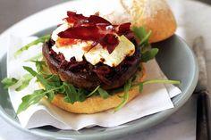 Mushroom & goats' cheese panini #food #recipes Check out this: http://explodingtastebuds.com/