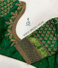 To get your outfit customized visit us at Chennai, Vadapalani or call/msg us at for appointments, online order and further… Cutwork Blouse Designs, Wedding Saree Blouse Designs, Fancy Blouse Designs, Wedding Blouses, Hand Work Blouse Design, Stylish Blouse Design, Maggam Work Designs, Designer Blouse Patterns, Instagram