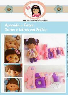 Free downloa Felt Magazine AnnCrafts Artesanato