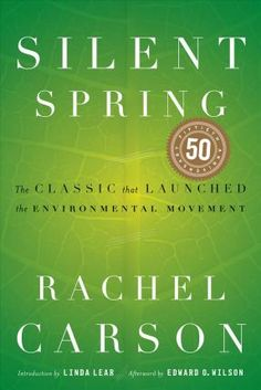 """Read """"Silent Spring"""" by Rachel Carson available from Rakuten Kobo. Rachel Carson's Silent Spring was first published in three serialized excerpts in the New Yorker in June of The bo. Free Pdf Books, Free Ebooks, Good Books, Books To Read, Rachel Carson, Science Books, Science Store, Popular Books, Reading Lists"""