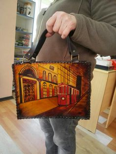 Leather Handbags, Leather Bag, Handmade Bags, Clutches, Projects To Try, Shoulder Bag, Unisex, Purses, Ideas
