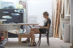Freunde von Freunden — Armelle de Sainte Marie — Artist, Studio, Le Chapitre, Marseille — http://www.freundevonfreunden.com/workplaces/armel...