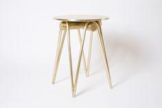 tadeas podracky bronze collection umbrella table stool designboom
