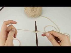Aprende a montar puntos para tejer en dos agujas, con explicaciones claras, de forma sencilla con el método simple, doble o continental, con dos agujas... Crochet Handbags, Bobby Pins, Hair Accessories, Youtube, Blog, Beauty, Shape, Baby Knitting, Weaving Techniques