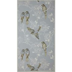 Buy Vintage, Prestigious Textiles Songbird Wallpaper from our Wallpaper range at John Lewis & Partners. Prestigious Textiles, Clock, Wallpaper, Floors, Vintage, Decor, Watch, Home Tiles, Flats